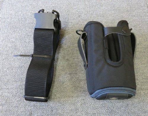 Agora SG-MC9121112-01 MC91xx Fabric BarCode Scanner Holster Black & Blue